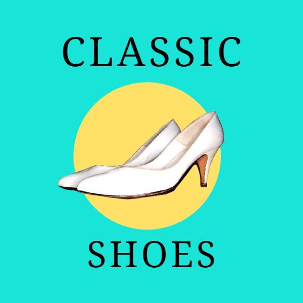 绿色复古鞋子商店图标