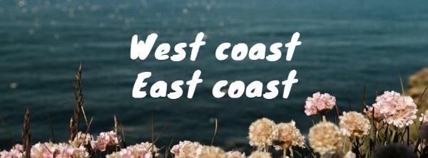 藍色海岸主題封面