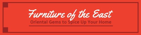 红色简约家具商店封面图