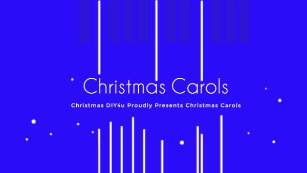 蓝色圣诞节音乐主题封面