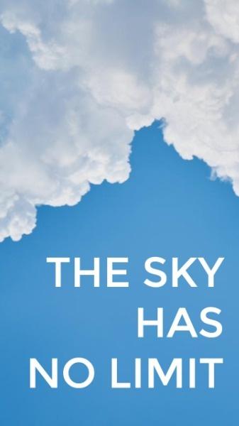 小清新天空