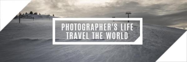 摄影师环游世界的生活
