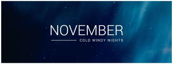 藍色季節主題封面