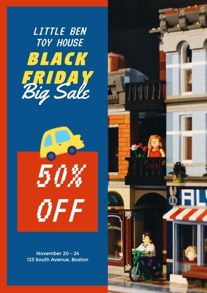 Black Friday Toy Sale
