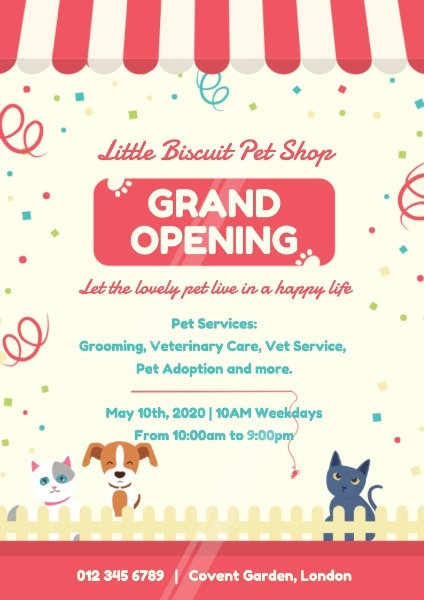 宠物商店开业PetShop