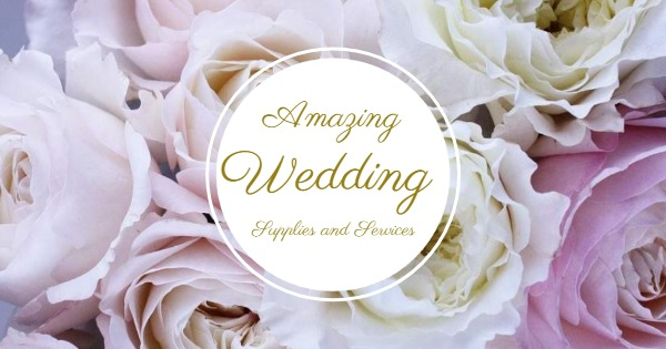 Amazing Wedding Supplies And Services