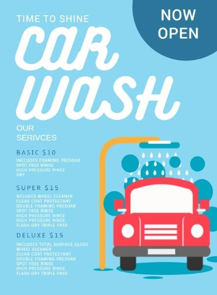 汽车美容洗车服务
