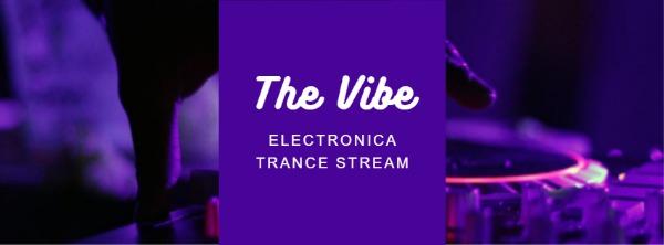 紫色音乐主题封面