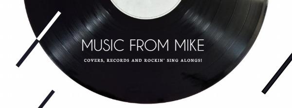 黑白音乐主题封面