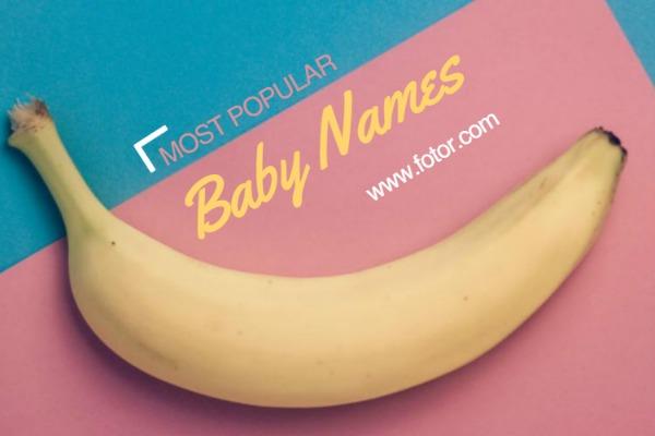 时尚宝宝香蕉