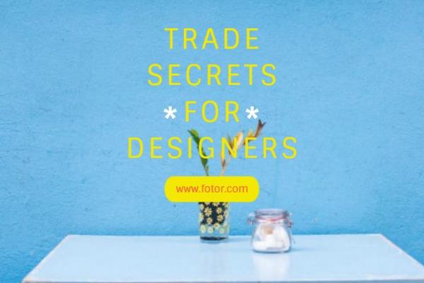 设计师的商业秘密