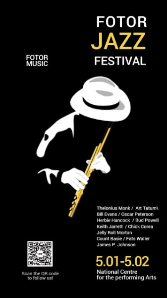 爵士音乐狂欢节黑色背景娱乐活动