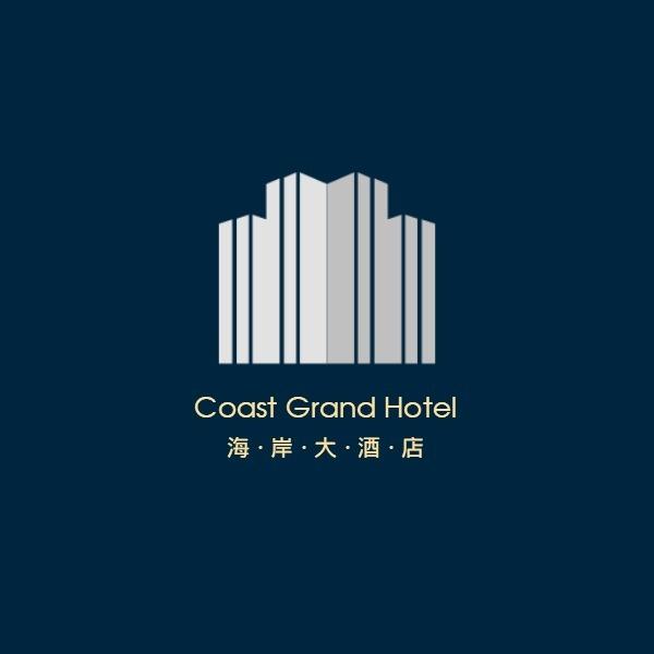 星级酒店Logo模板