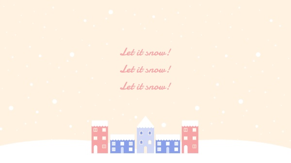 雪花冬季冬天