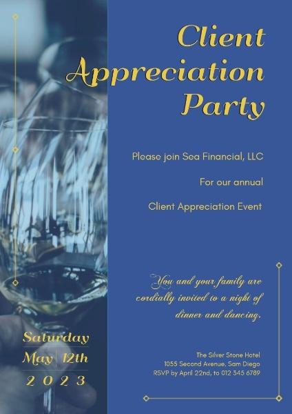 Official Client Appreciation Party