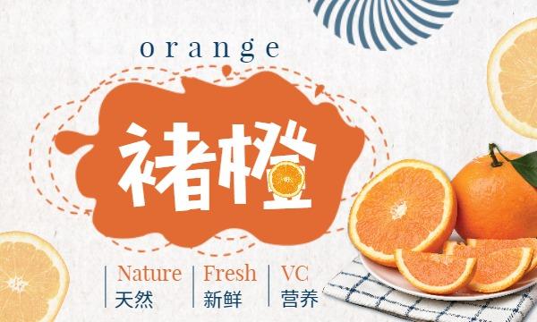 天然水果新鲜褚橙