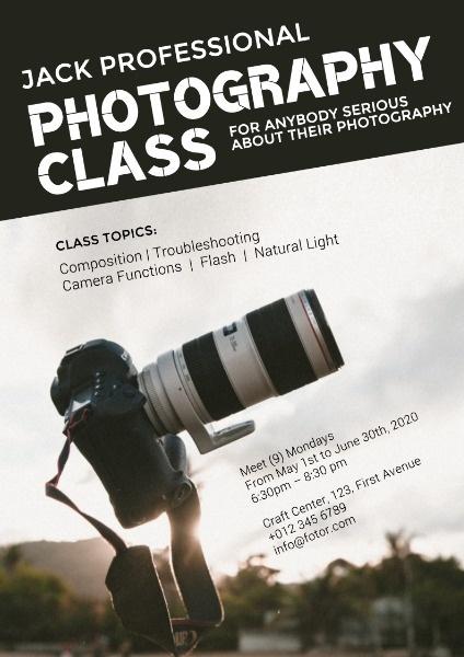 单反相机专业摄影课拍照