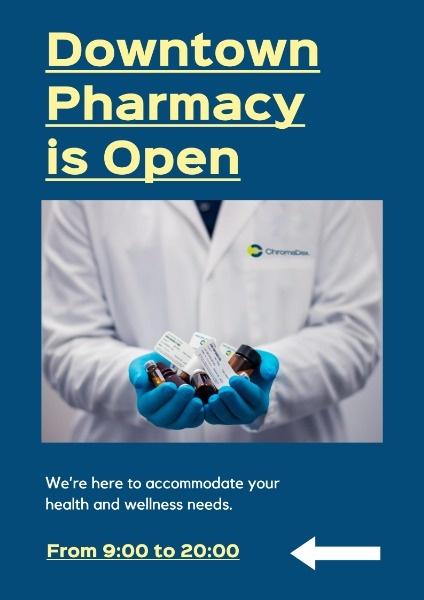 Blue Downtown Pharmacy
