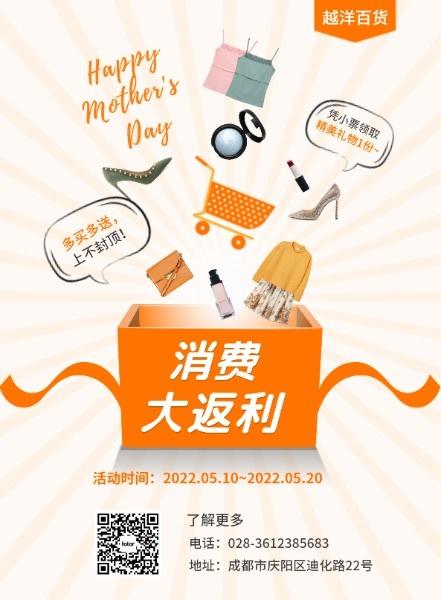 母親節百貨商場促銷活動