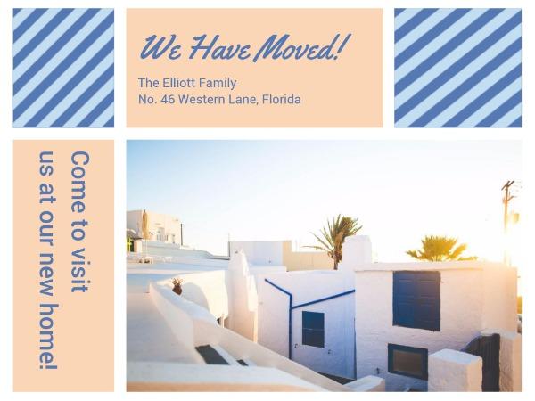 Sunshine housewarming party invitation