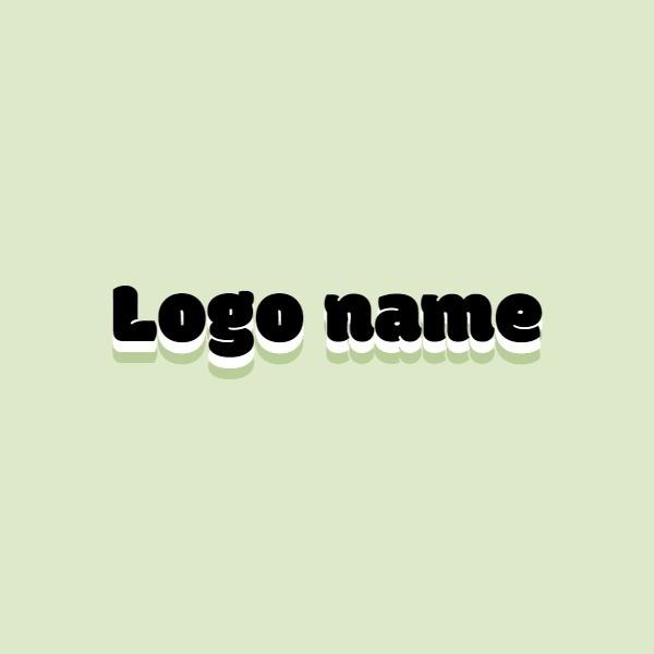 绿色简约Logo