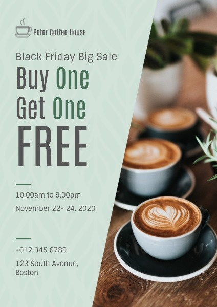 Black Friday Coffee Sale