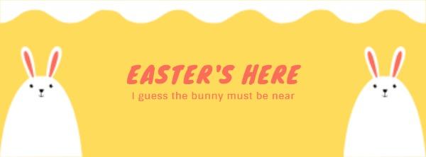 黄色复活节主题封面
