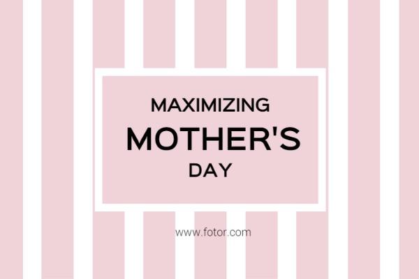 伟大的节日母亲节