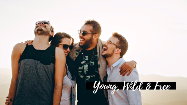 年轻充满活力