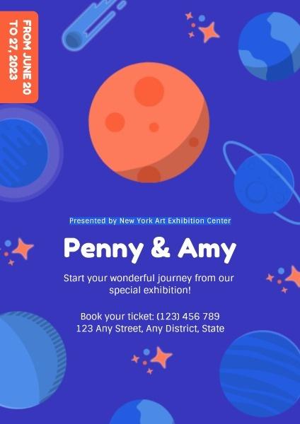 Creative Special Exhibition Poster