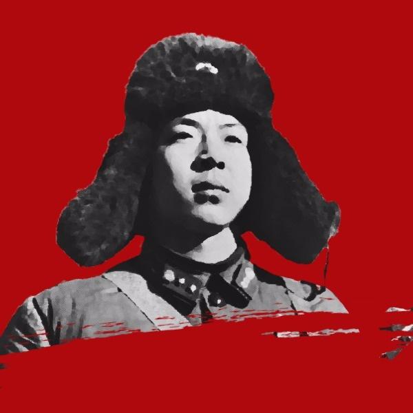 红色人抠图雷锋纪念日矢量图