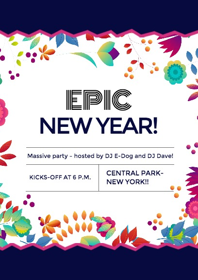 Epic New Year Party