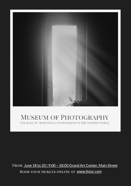 Black And White Light Photography