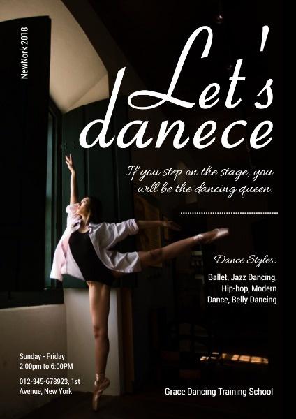舞蹈培训课程报名班