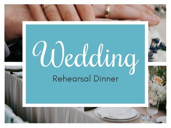 Wedding Rehearsal Invitation Card