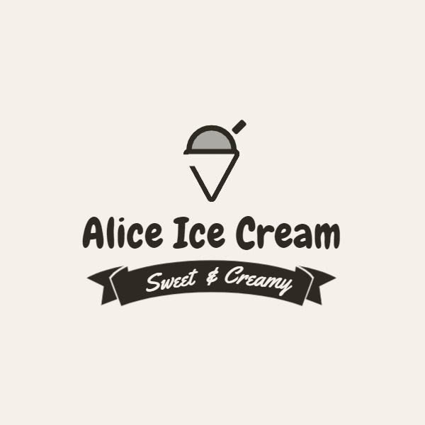 冰淇淋甜筒