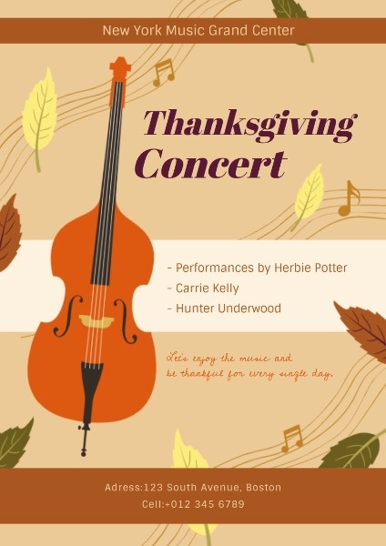 Thanksgiving Concert