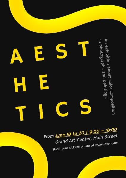Aesthetic Art Exhibition