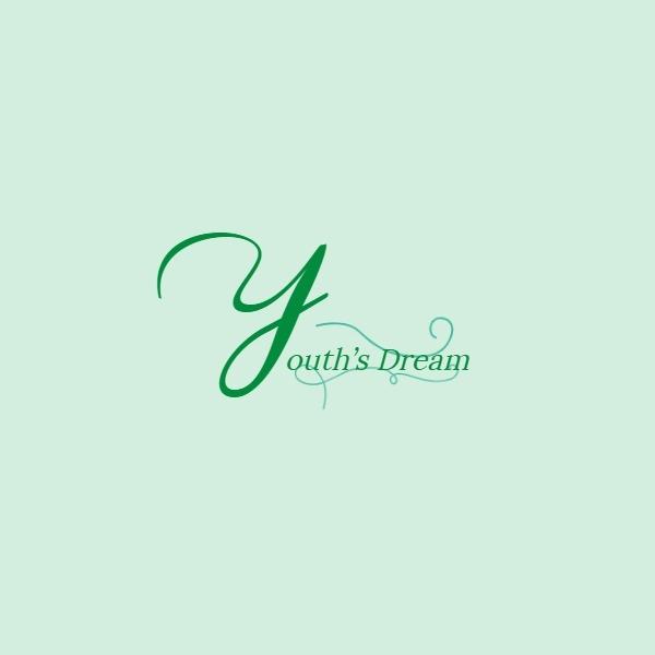 绿色字母简约