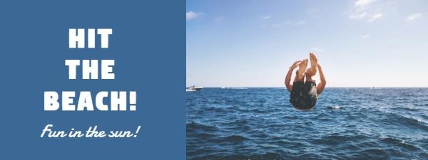夏季海洋主題封面