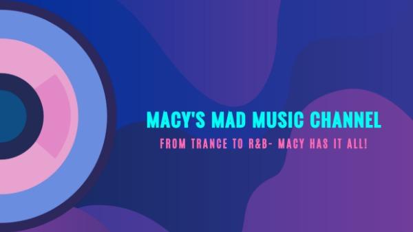 紫色音乐主题海报
