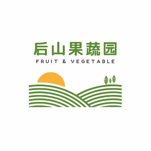蔬菜果园Logo模板