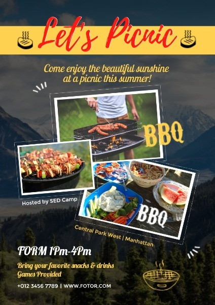 Summer Picnic And BBQ Party