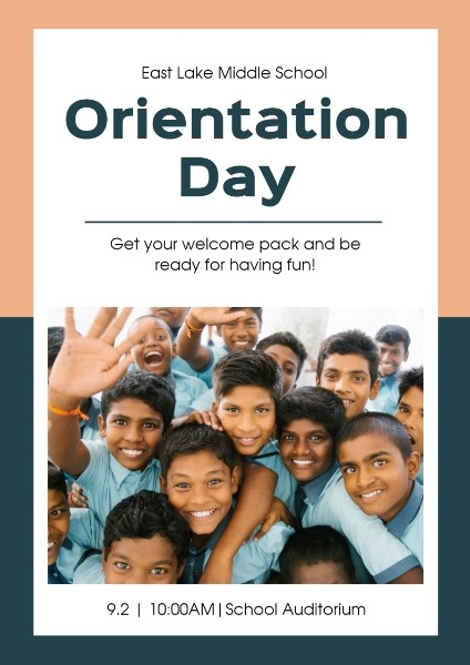Middle School Orientation Day