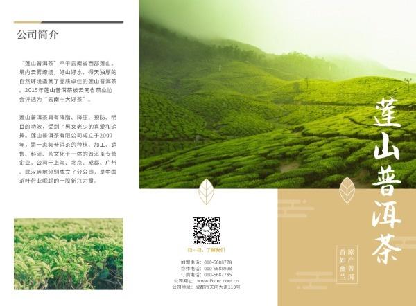 蓮山普洱茶