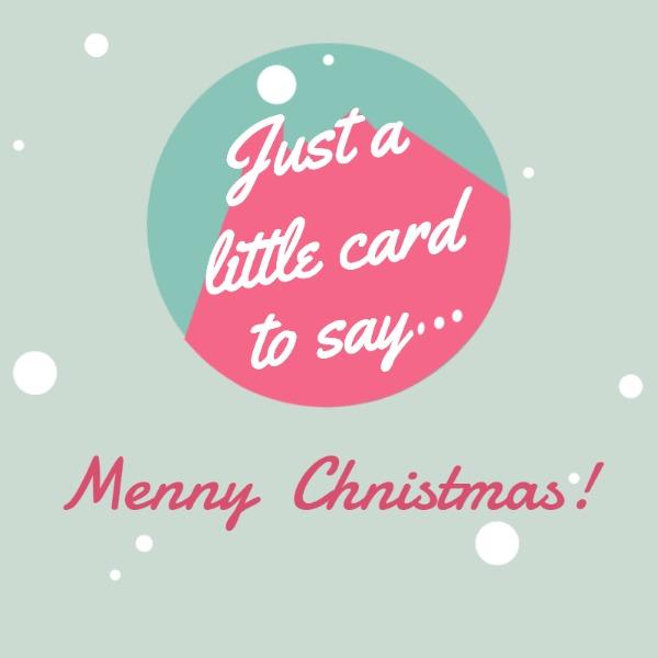 灰色圣诞节拼接主题海报