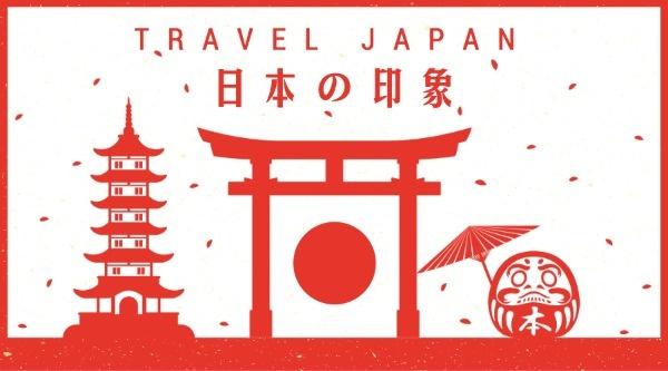 日本印象旅游红色鸟居
