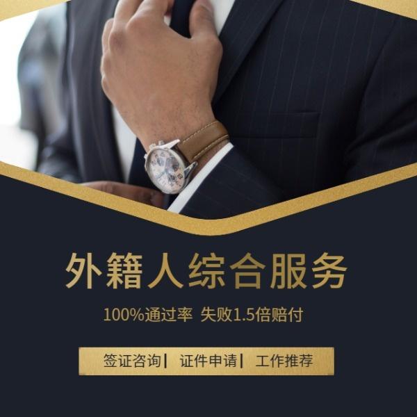 黑金商務簽證服務