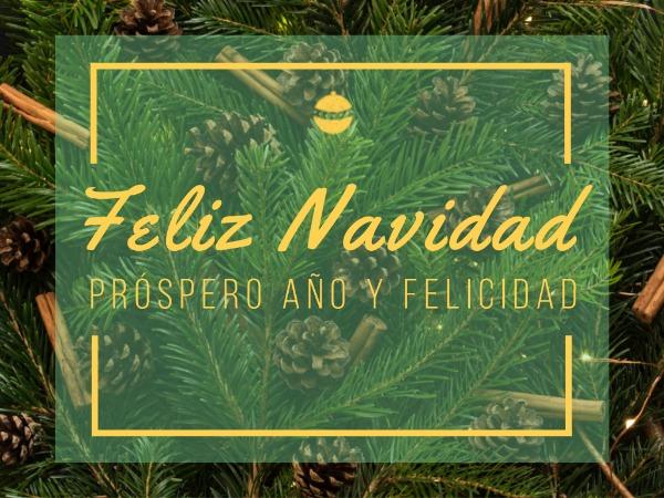 圣诞节快乐祝福欢乐绿色简约