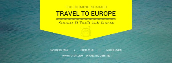 綠色旅行主題封面